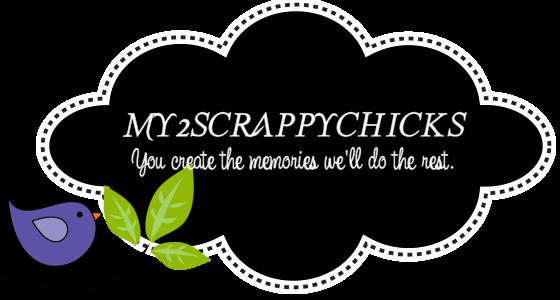 my2scrappychicks Page Scrapbook Page kits
