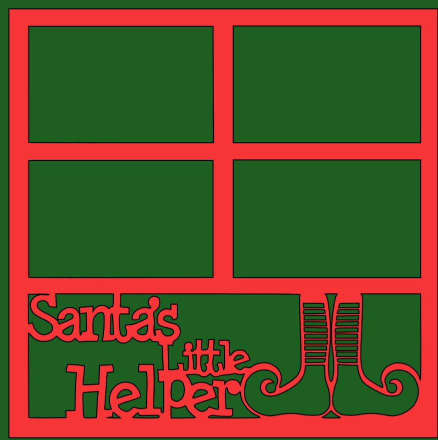 Santa's little Helper Overlay