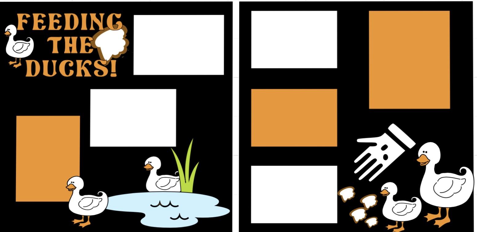 Feeding the Ducks -  page kit