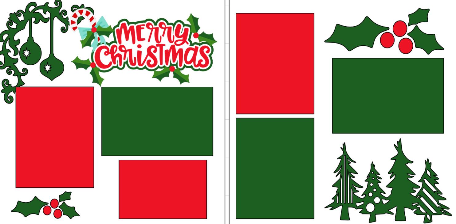 Merry Christmas � -  page kit