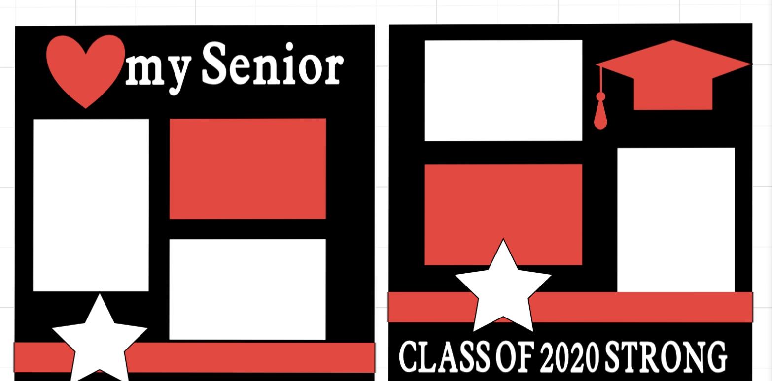 I love my Senior 2020--  page kit