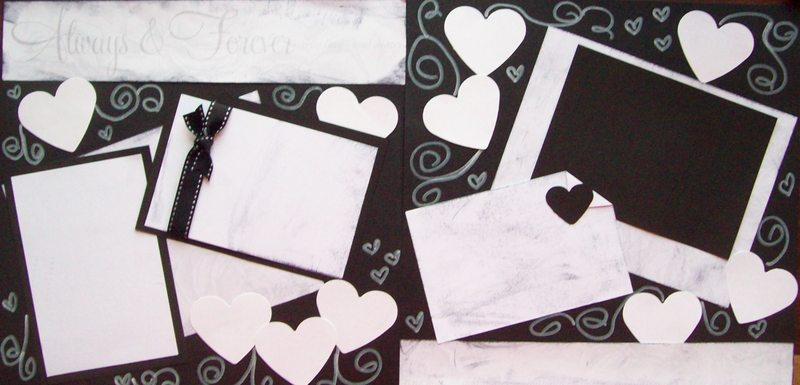 Always and Forever Wedding or Anniversary  --   Page Kit