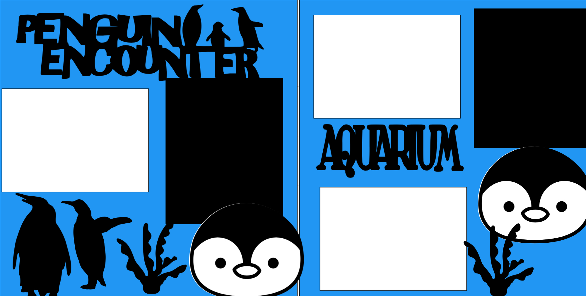 Penguin Encounter aquarium-zoo -  page kit