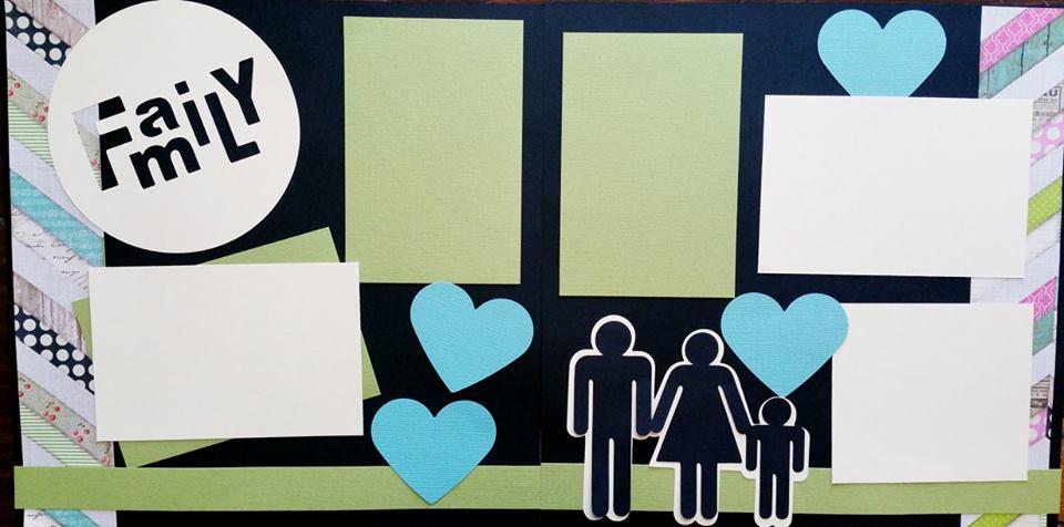 FAMILY PICS  -basic page kit
