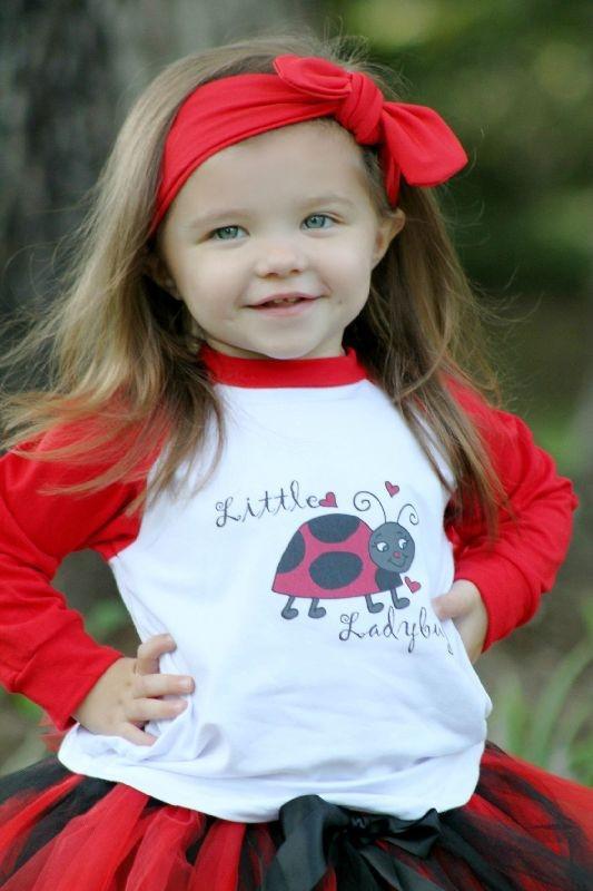 Little lady bug tee