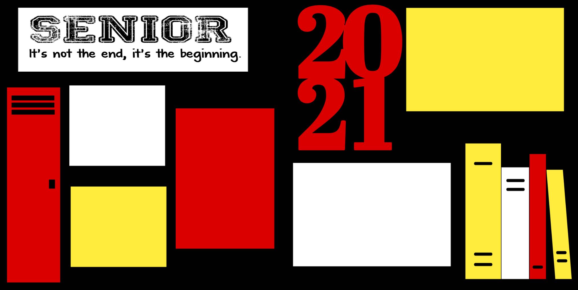 SENIOR 2021  - PAGE KIT