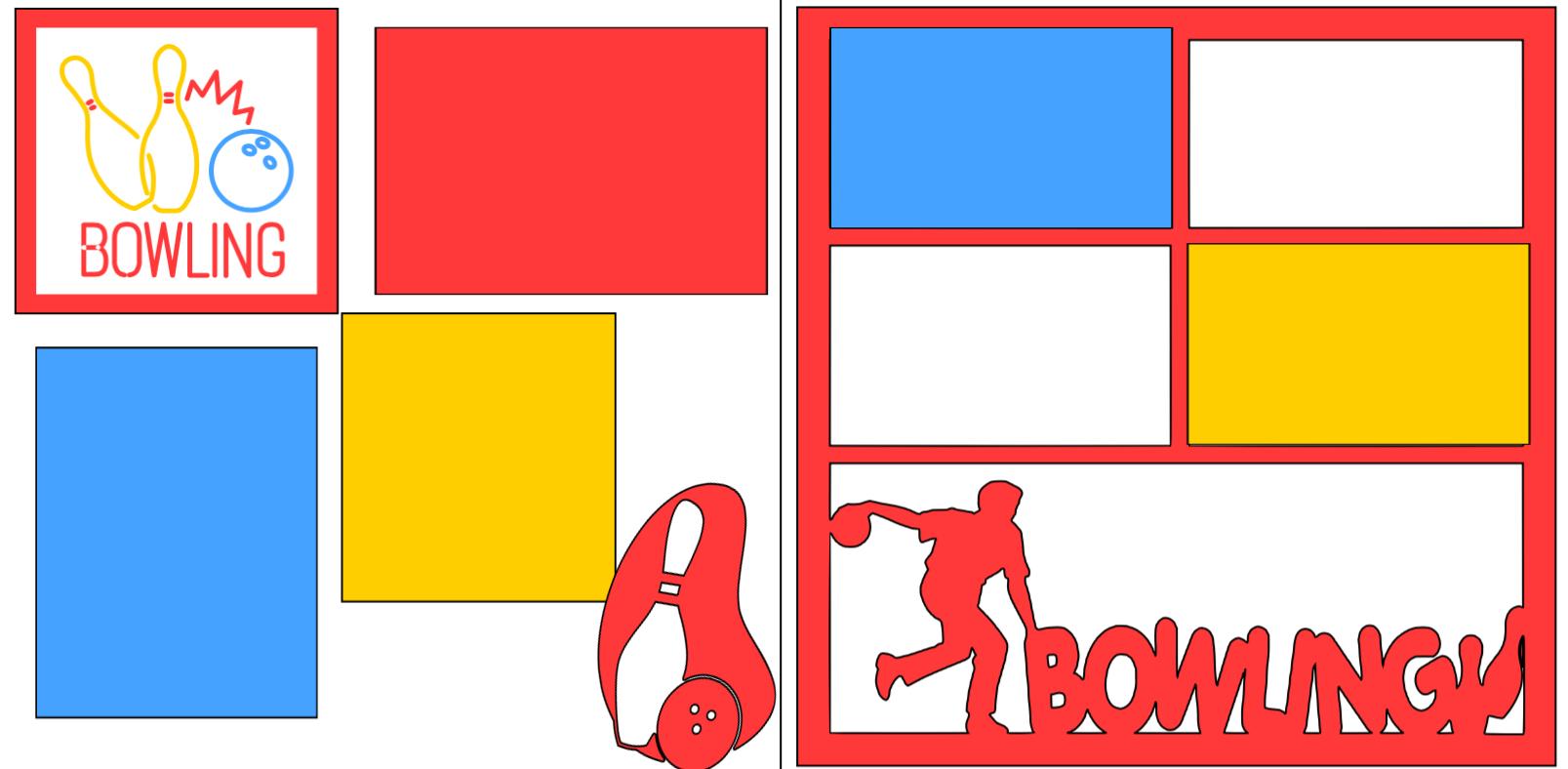 Bowling **-  page kit