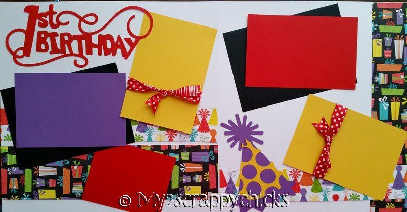 1ST BIRTHDAY GENERIC --   Page Kit