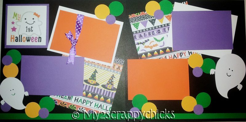MY FIRST HALLOWEEN  page kit