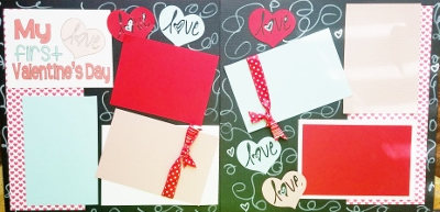 MY 1ST VALENTINES DAY ^^^ page kit