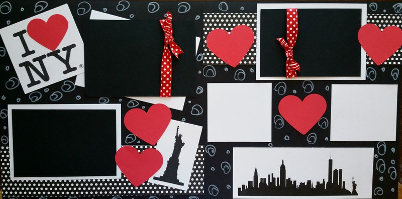 I LOVE NEW YORK    page kit