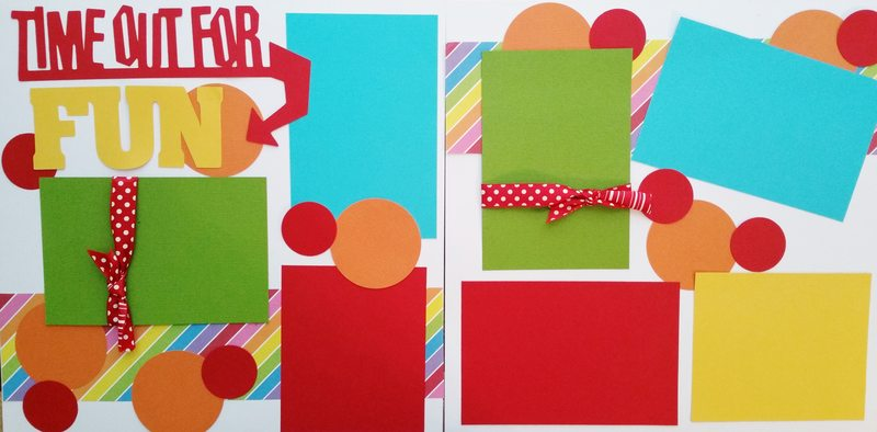 TIME OUT FOR FUN   page kit