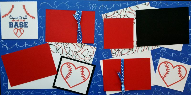CAUSE ITS ALL ABOUT THAT BASE (BASEBALL)   page kit