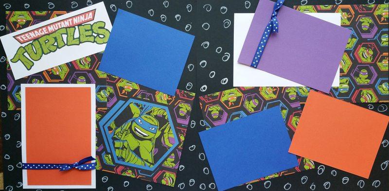 Teenage Mutant Ninja Turtles   page kit
