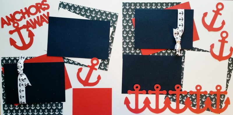 ANCHORS AWAY PAGE KIT CRUISE
