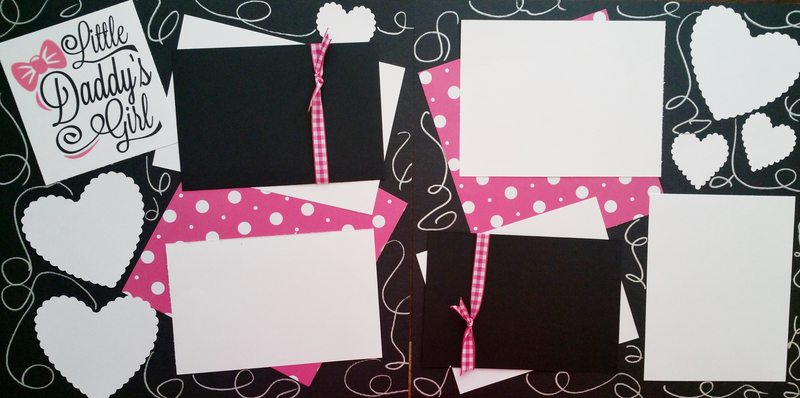 LITTLE DADDYS GIRL  page kit