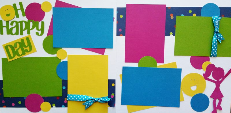 OH HAPPY DAY GIRL   page kit