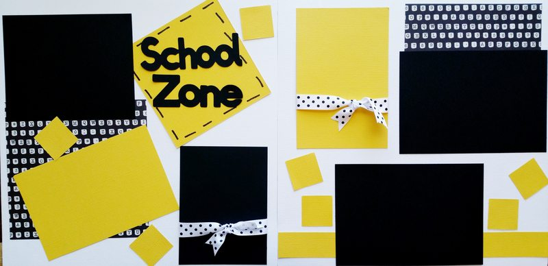 SCHOOL ZONE  page kit