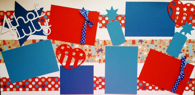 4TH OF JULY ***   page kit