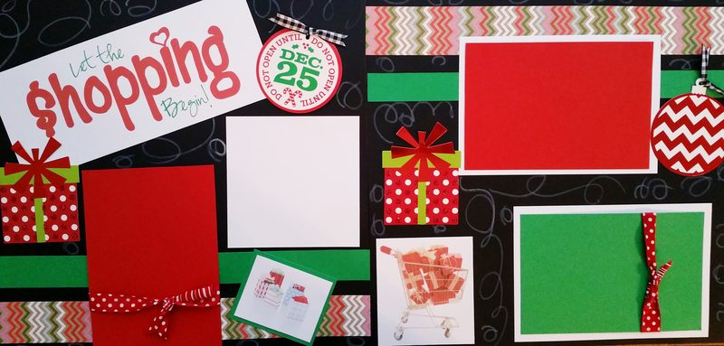 LET THE SHOPPING BEGIN!   page kit