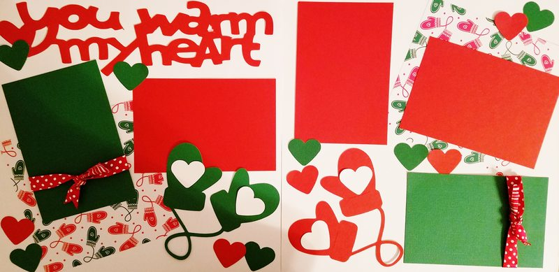 YOU WARM MY HEART  page kit
