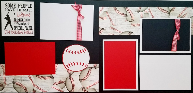 MY BASEBALL PLAYER page kit