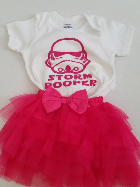 storm pooper girl star wars and tutu