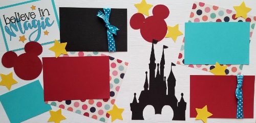 BELIEVE IN MAGIC DISNEY   page kit