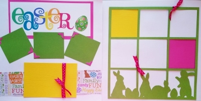 EASTER PAGE KIT