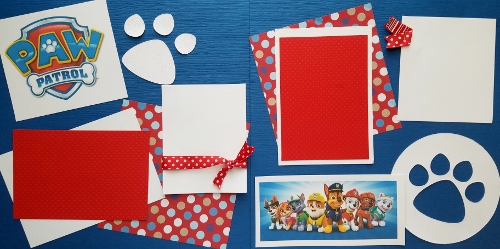 PAW PATROL 3 PREMADE PAGES