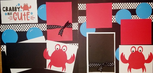 CRABBY BUT CUTE PAGE KIT