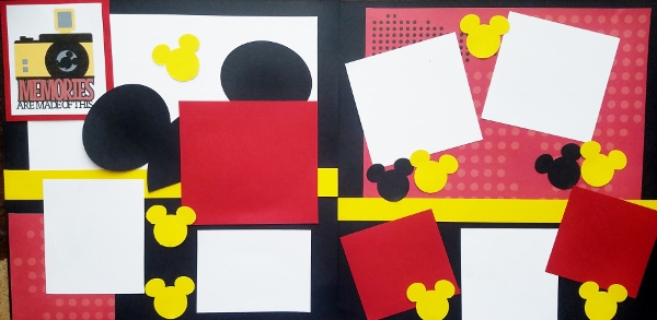 -DISNEY MEMORIES ARE MADE OF THIS  -basic page kit