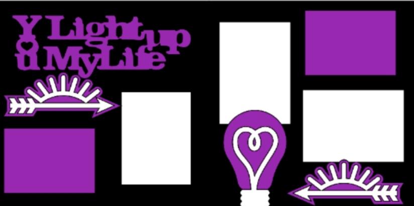 You light up my life  -basic page kit