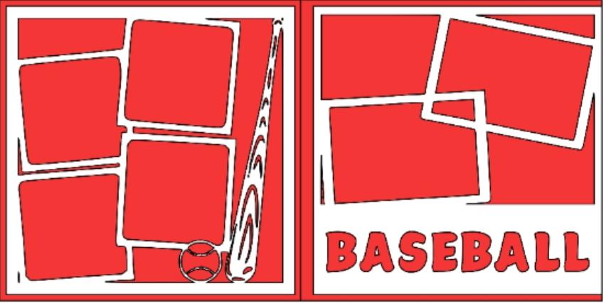 Baseball generic overlay  -basic page kit