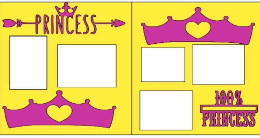 Princess (1) -basic page kit
