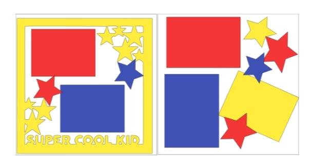 Super Cool Kid  -basic page kit