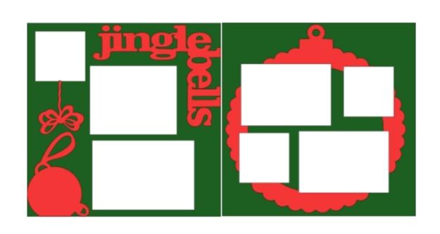 Jingle Bells -basic page kit