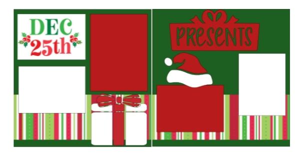 December 25th Christmas  -basic page kit