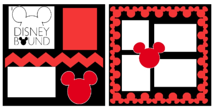 *Disney Bound -basic page kit
