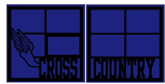 Cross Country running  -basic page kit