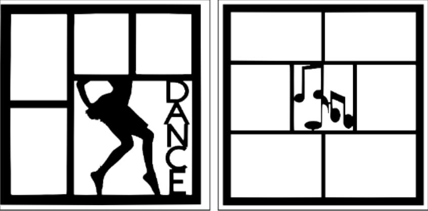 DANCING -basic page kit