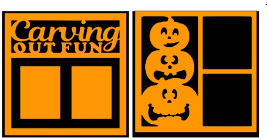 Carving out fun pumpkins  -basic page kit