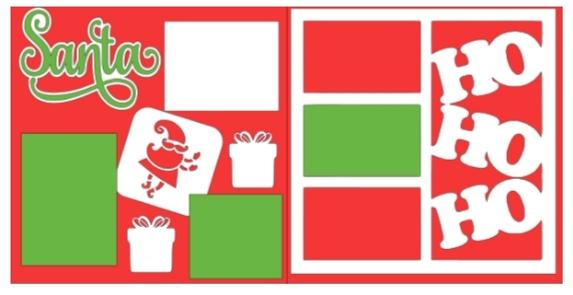 Santa*  -basic page kit