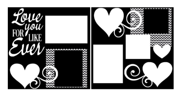 Love you for like EVER -basic page kit