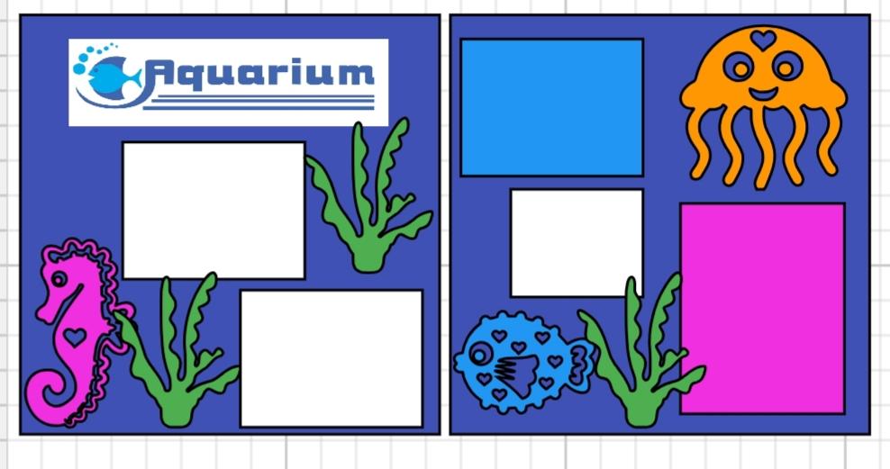 Aquarium  page kit