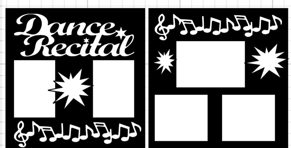 Dance Recital 2  page kit