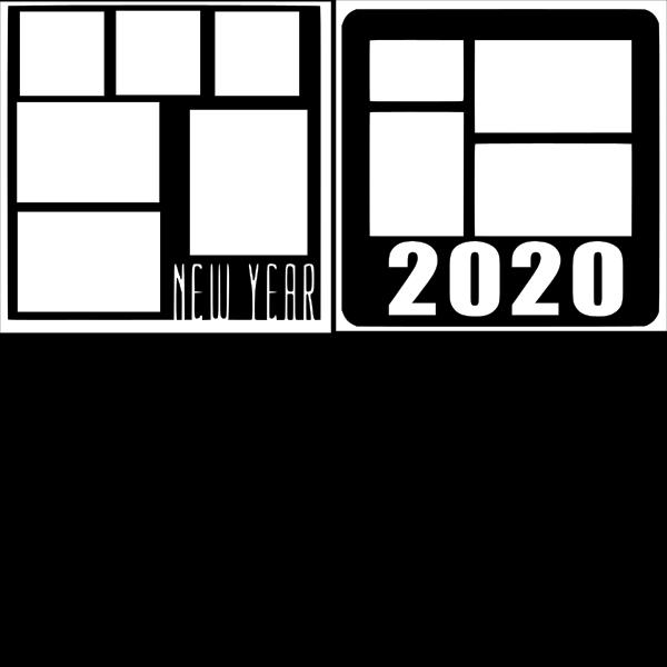 NEW YEAR 2020  -basic page kit
