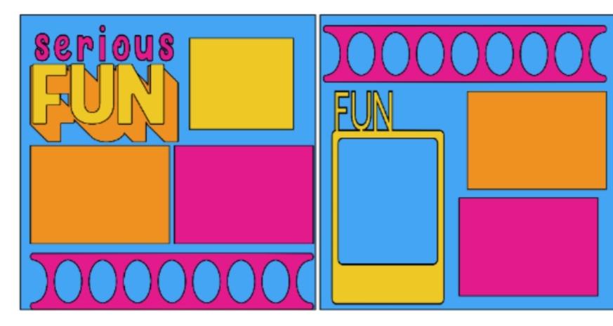 Serious Fun--  page kit