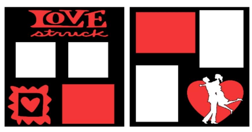 Love Struck--  page kit