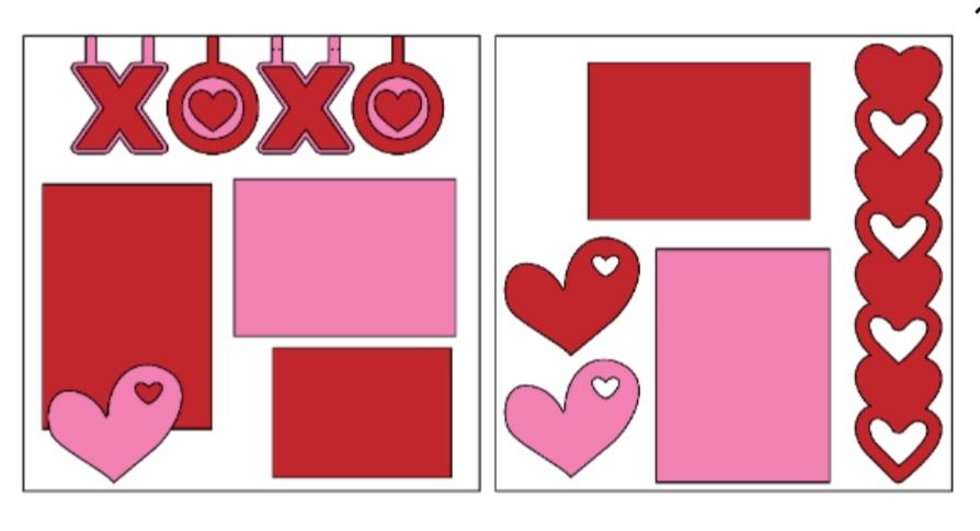XOXO--  page kit